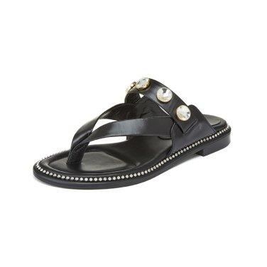 Cubic strap sandal(black) DG2AM19046BLK / 블랙