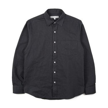 NOCLAIM Standard fit Oxford Shirts Charcoal