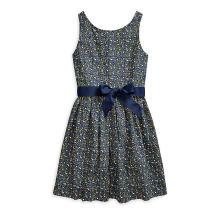 폴로 키즈 여아 7-16세 플로랄 코튼 포플린 드레스(CWPODRSG3M10261B85)