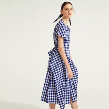 Gingham Checked OPS (ANNAHS-OP010NAF.E)