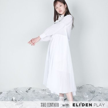 [더센토르] The Centaur LACE RUFFLE DRESS [1COLOR] (TC19SS-OP-01)