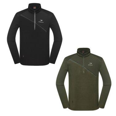 TRITON (트리톤) 남성 짚업 티셔츠 (DMW18213)