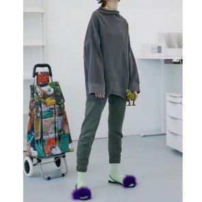 [테이즈] Palm Slim Lounge Pants 2종(19FWTAZE34E)