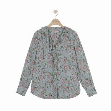 [여성]프릴 셔츠형 블라우스(T192MBL138NW.E)