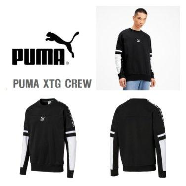 남여공용맨투맨 PUMA XTG CREW 595314-01JS
