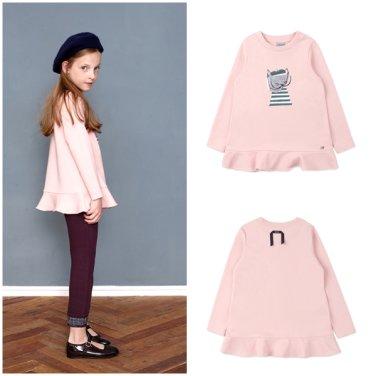 BT54TS07PK여아 핑크 롱티셔츠