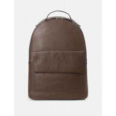 브라운 빈 라운드 백팩 - Brown (BE99D2M00D)