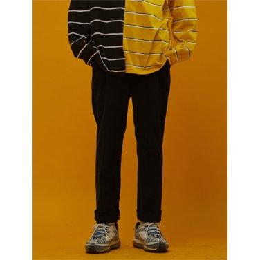 [소윙바운더리스] MOONRISE CORDUROY PANTS BLACK