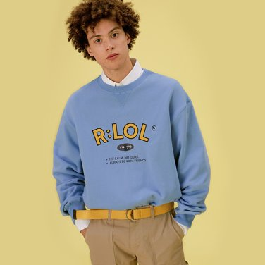 [RLOL] (TS-20101) RLOL YO-YO SWEATSHIRT LIGHT BLUE
