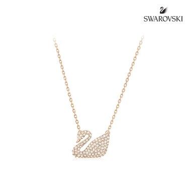 Swan 로즈골드 네크리스 5121597