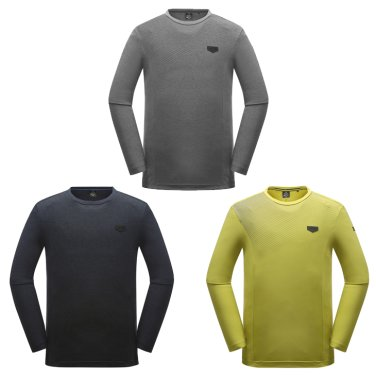 ROUNI(로우니) 남성 라운드 티셔츠 (DMU18223)