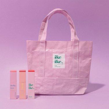 [아이크아이크] 핑크 토트 파우치