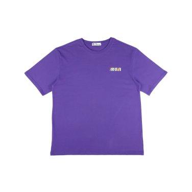 [하이레졸루션] 메인 로고 티셔츠 - PURPLE