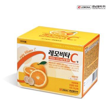경남제약 레모비타 오렌지 (2g x 100정) / 무료배송