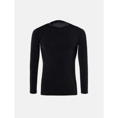 남성 블랙 쿨스킨 라운드넥 티셔츠 (BJ9141B075)