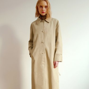 OVERFIT STRING TRENCH CT (BEIGE)