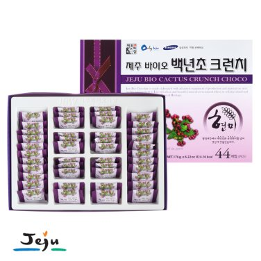 ◆제주바이오 백년초 현미크런치(대) 44개입(176g) / 무료배송