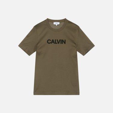 로고 패치 코튼 티셔츠 (VWMT1KK15BA0 )