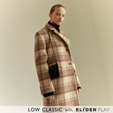 [로우클래식] 19 WINTER LOCLE BASIC COAT_BEIGE CHECK (Z3LCI6CT106)