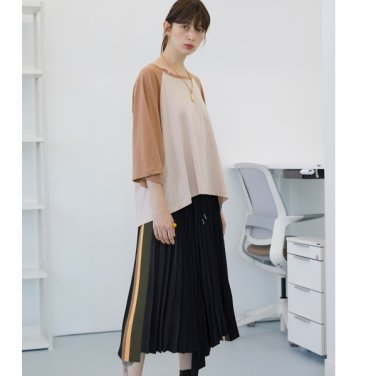 [테이즈][10/7 순차발송] Chester Pleats Skirt (19FWTAZE31E)