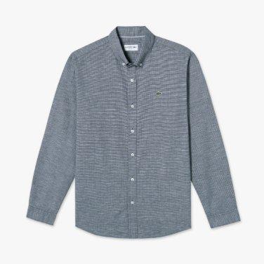 나노 패턴 슬림핏 셔츠 (CH520E-19B)