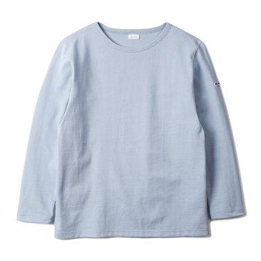 NOCLAIM Boat-neck Basque Shirt Sky