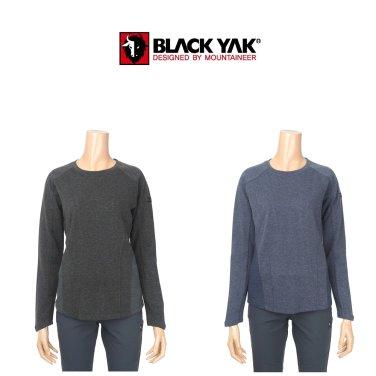 블랙야크 여성용 가을/겨울용 기능성 라운드 티셔츠 E슬러거티셔츠-2