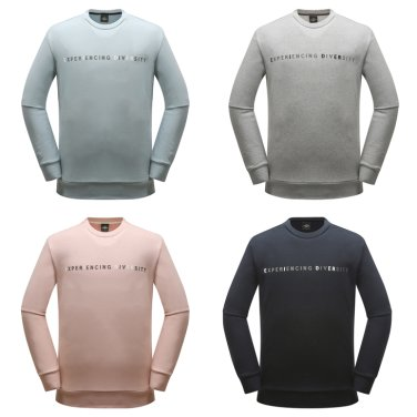 BENING (베닝) 남녀공용 맨투맨 티셔츠 (DMU18265)