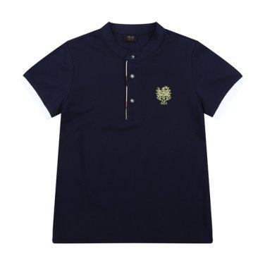 솔리드 헨리넥 티셔츠(DPM12TR19M_NV)
