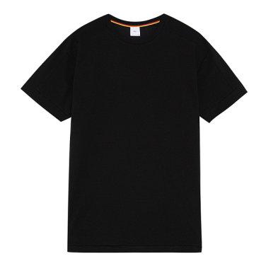 S/S 여름에 어울리는 블랙 라운드 티셔츠 PXIGR8017.IM