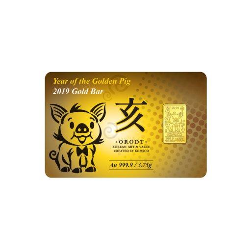 2019 황금돼지의 해 골드바 3.75g