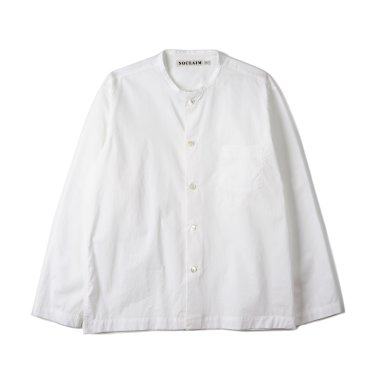 NOCLAIM Standard fit Oxford Shirts White