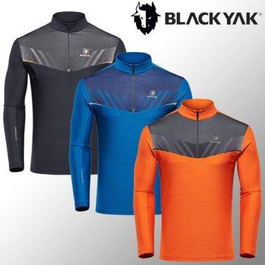 가을 겨울 남성용 반짚업 긴팔티셔츠 M레인지티셔츠-1