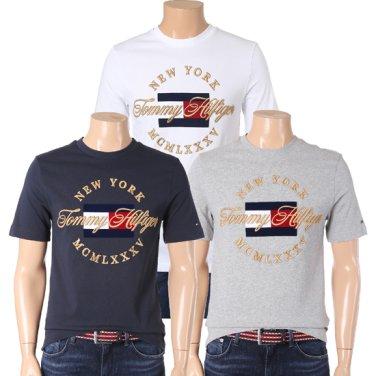 타미힐피거남성 아이콘 릴렉스 핏 반팔 티셔츠 TMMT1KOE62A0