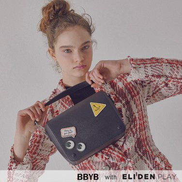 [비비와이비][재이 착용] Marce Tindy Shoulder Bag (Jade Black) (09I1210B0K)