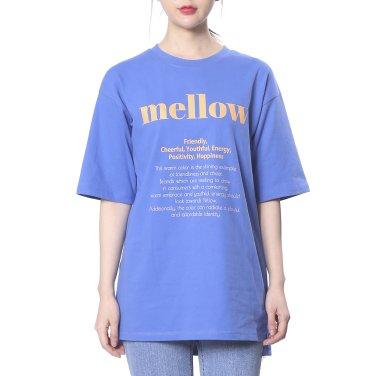 [플라스틱아일랜드] 박시 컬러프린트 티셔츠(PK2CH461)