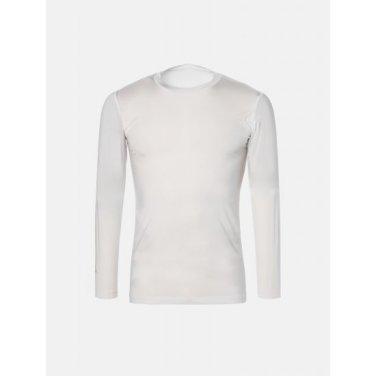 남성 화이트 쿨스킨 라운드넥 티셔츠 (BJ9141B071)
