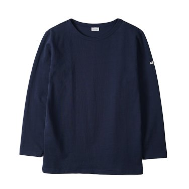 NOCLAIM Boat-neck Basque Shirt Navy