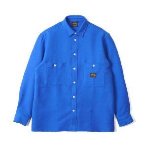 Stan Ray Flannel Shirt  Brilliant Blue