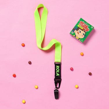(LV-19301) ROLA NECKLACE WHISTLE LIME