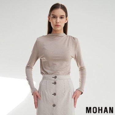 [모한] MOHAN TTS SHOULDER SHIRRING TOP _ 3COLOR (MHTTSTS003)