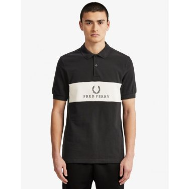 [S/S상품]패널 파이프 프레드페리피케셔츠Panel Piped Pique Shirt(184)AFPM1914552