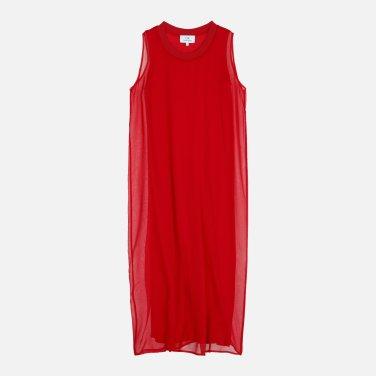 라이트 드레이프 실크 드레스 (VWMT1OO10BA0)