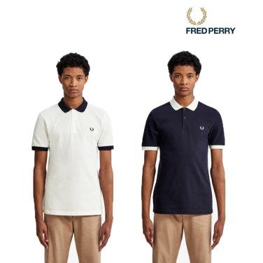 [S/S상품] 컬러 블록 피케 셔츠 2종 AFPM1915571
