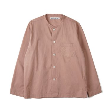NOCLAIM Standard fit Oxford Shirts Off White
