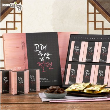 [더함] 고려홍삼절편 국내산100프로 홍삼을꿀에절인/정과