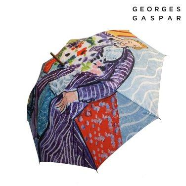 조지가스파 마티스 60 보라색드레스와아네모네 장우산 GUGGU10003