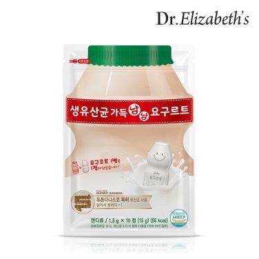 닥터엘리자베스 생유산균 가득 냠냠요구르트 (1.5g x 10정)
