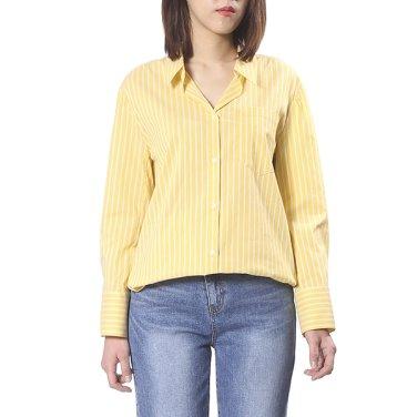 어깨 셔링 셔츠 블라우스(OW9MB342)
