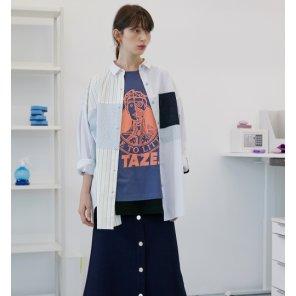 [테이즈]Betcha Collage Shirt_2 Color Options (19FWTAZE30E)